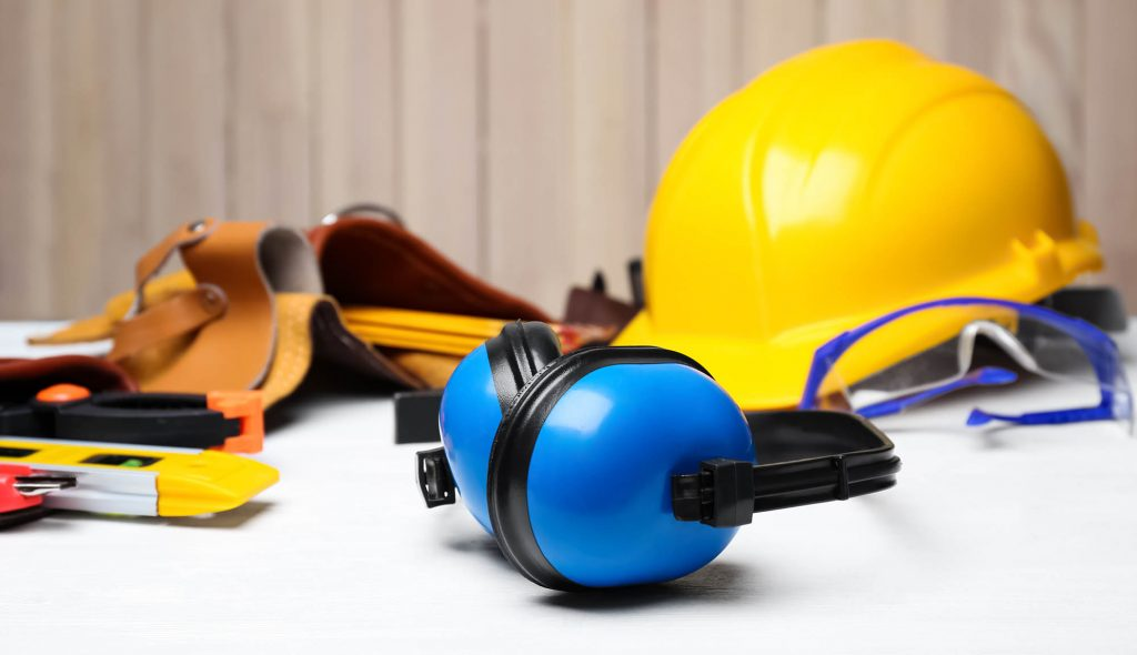personal protective equipment for safety in the workplace, reduce Industrial Deafness